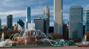 buckingham fountain in grant park chicago