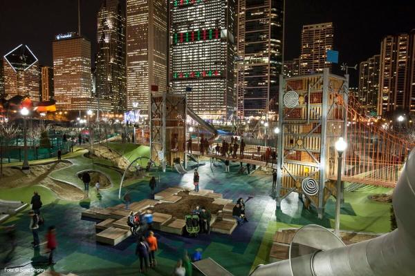 maggie daley park in chicago
